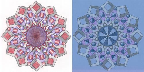Mandala two ways
