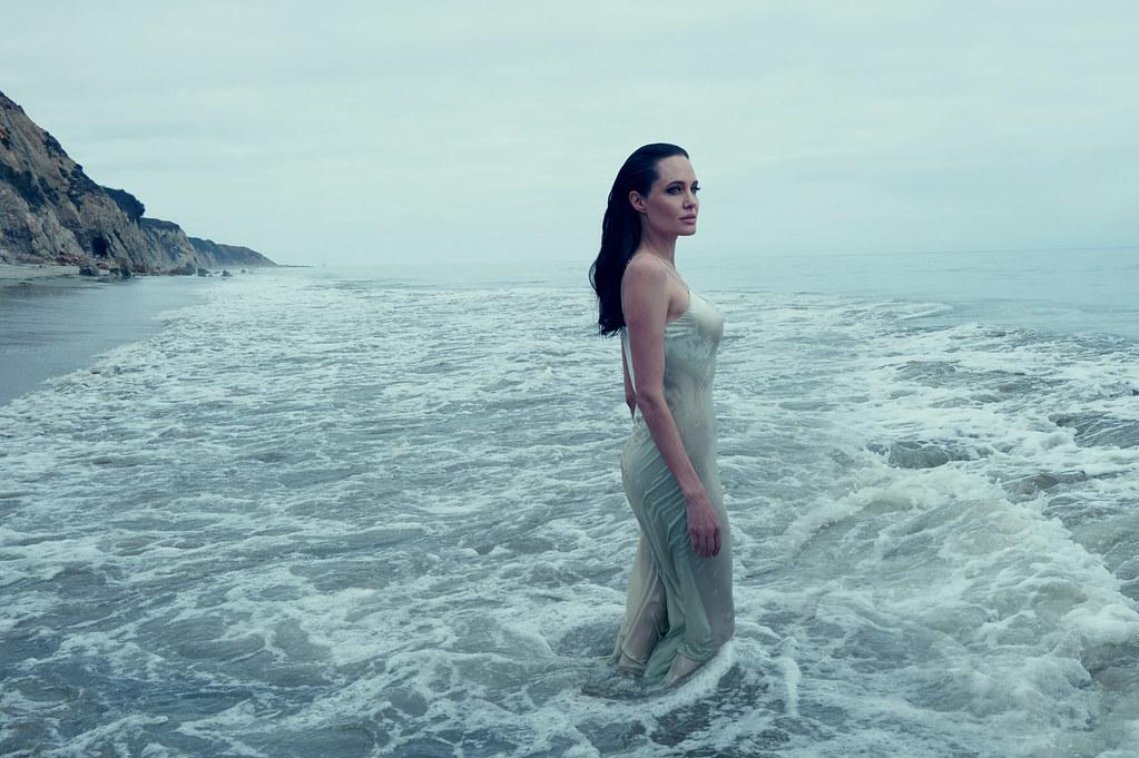 Анджелина Джоли — Фотосессия для «Vogue» 2015 – 6