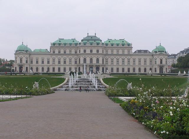 Belvederegarten, Vienna