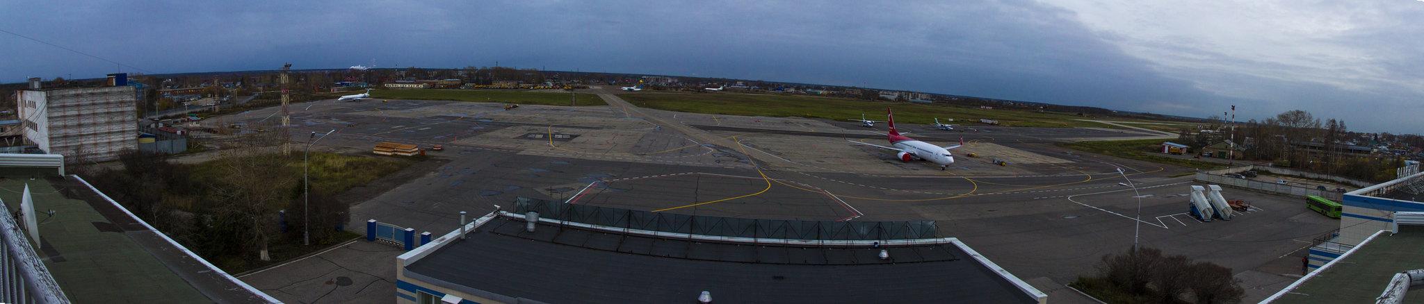 Панорама аэропорта Сыктывкар