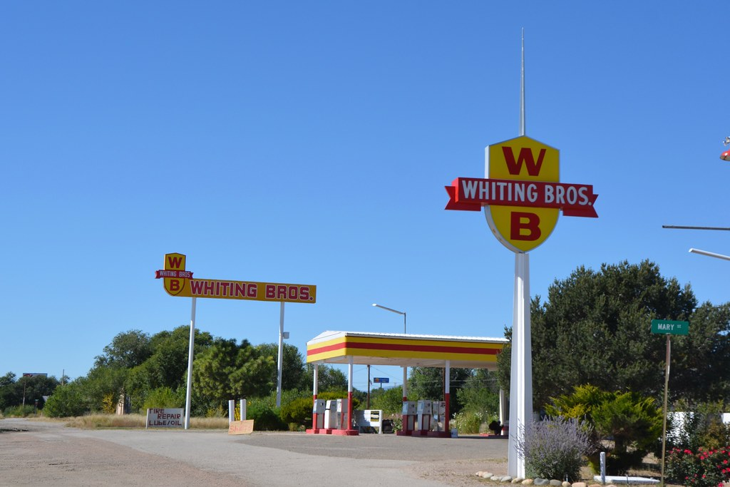 Whiting Bros. Moriarty New Mexico.