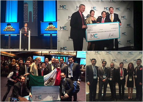 """La empresa startup mexicana """"Estrenón"""" ganadora del premio MassChallenge 2015"""