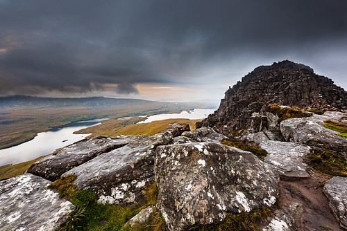 autumn mountain fall sunrise scotland rainbow stacpollaidh assynt summerisles nikond810 nikon1424f28