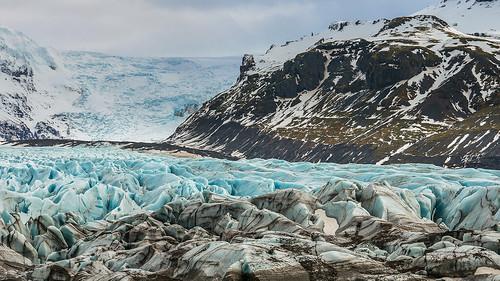 'Peaks And Crevasses' - Svínafellsjökull, Iceland