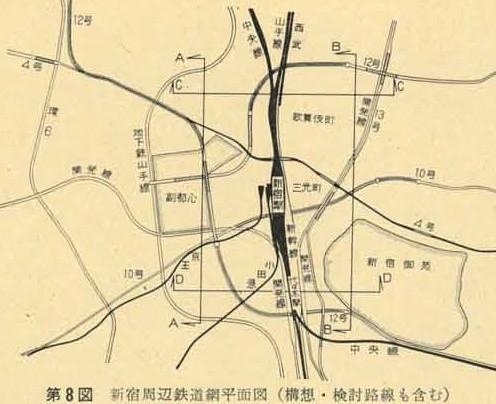 東北・上越新幹線新宿駅