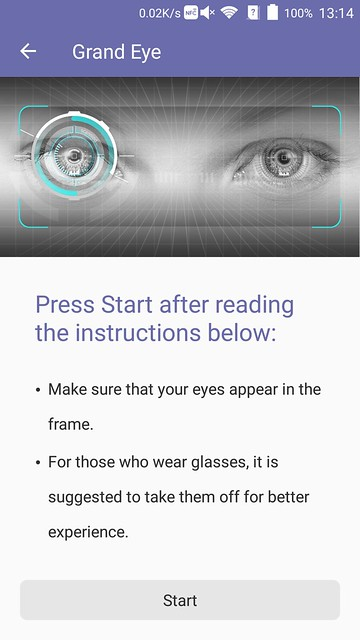 ZTE Axon Elite - Eyeprint Instructions