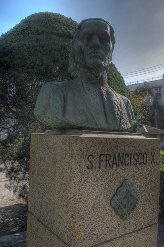 St Francisco Xavier at Kagoshima on OCT 24, 2015 (3)
