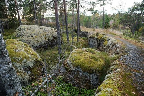 suomi finland woods hiking path route metsä kuni mustasaari vaellus polku reitti