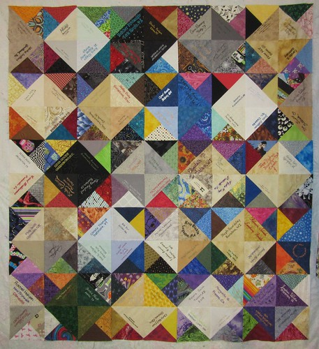Project of Doom 2015 Signature Quilt