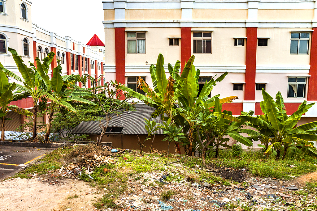 Failed real estate development--Batam