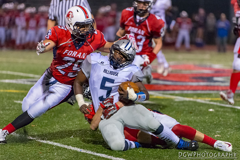 Foran High vs. Hillhouse - High School Football