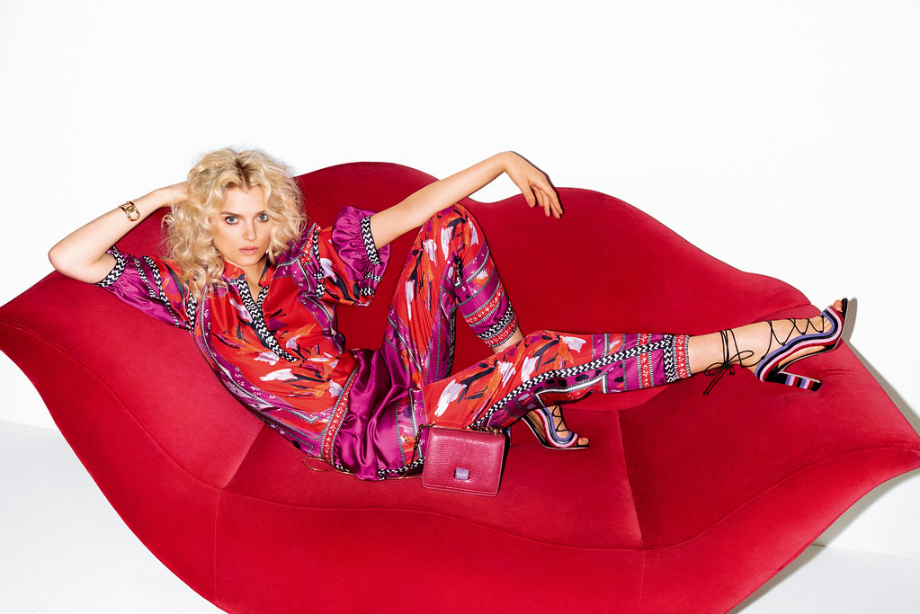 Лили Дональдсон — Фотосессия для «Vogue» JP 2015 – 1