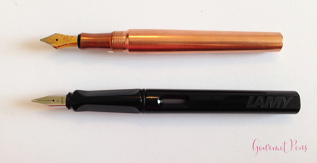 Review @KaraKustoms Fountain K Copper Fountain Pen (3)