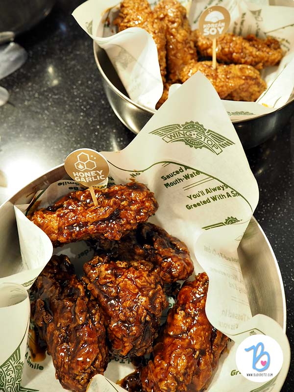 honey garlic wingstop philippines