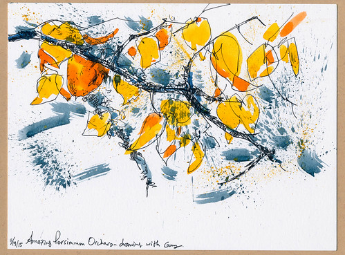 Sketchbook #93: Persimmon Orchard