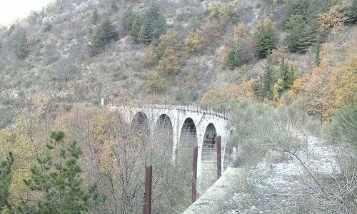 #Basilicata, ex ferrovia (Pignola).  #stradeferrate #treno #mezzogiorno #nature