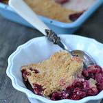 Gluten free blackberry & apple crumble 1