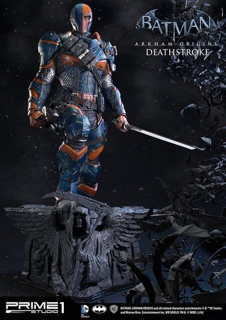 Prime 1 Studio 蝙蝠俠:阿卡漢起源【喪鐘】Deathstroke 1/3 比例超巨大全身雕像
