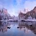 Valley Winter   Yosemite by v on life