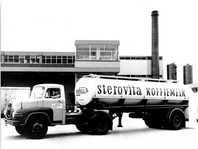 Тягач MAN 635 L1 с цистерной. 1959 – 1962 годы