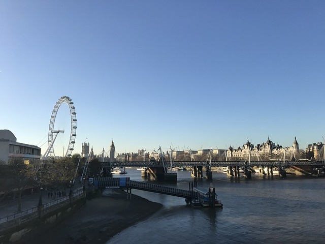 A Walk across London - north to south