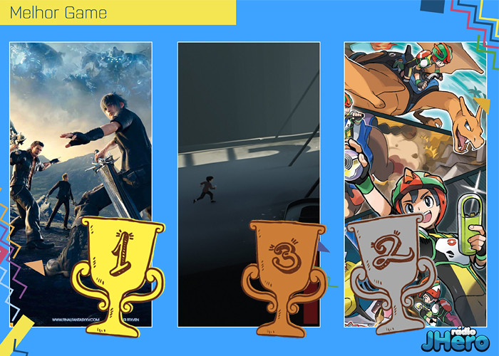 Sayonara 2016! Melhores do Ano 2016 - Vencedores!