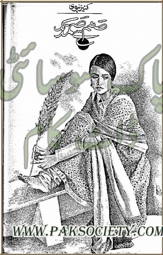 Sanam Se Samad Tak  is a very well written complex script novel which depicts normal emotions and behaviour of human like love hate greed power and fear, writen by Kaneez Nabvi , Kaneez Nabvi is a very famous and popular specialy among female readers