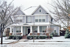 House in Snowstorm, North Richland Hills, 2008