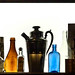old bottle display by -gregg-