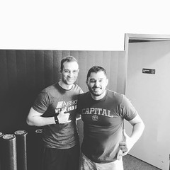 Adam Pruneda gave another amazing FREE seminar for us extremely fortunate folks at #CapitalMMA. @airrosti #mobility #stability #painrelief