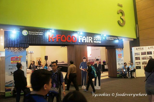1.K-Food Fair 2015 Malaysia @ Mid Valley Exhibition Hall