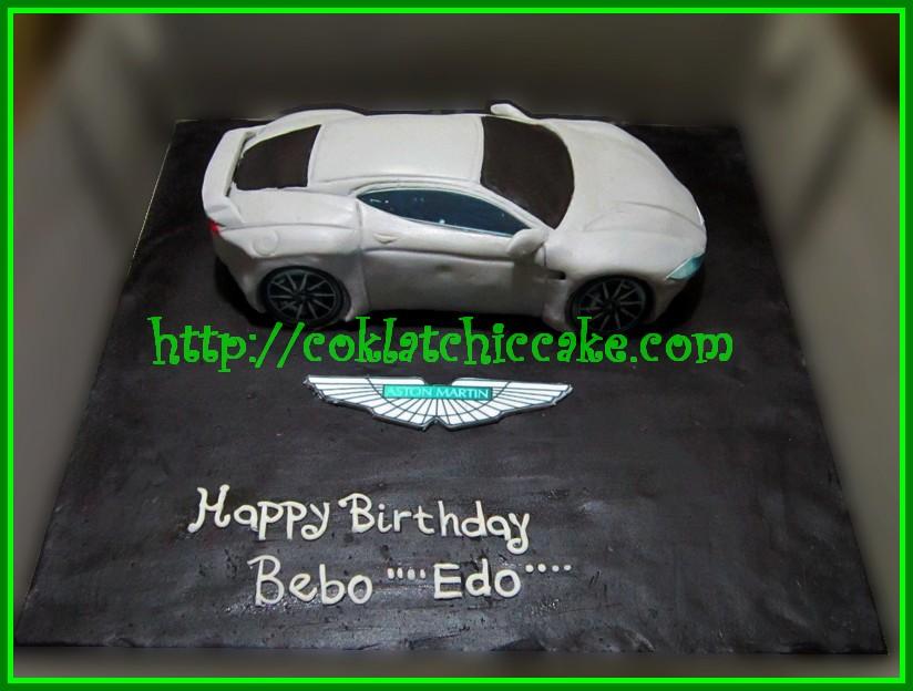 Cake Aston Martin Bebo Edo Jual Kue Ulang Tahun