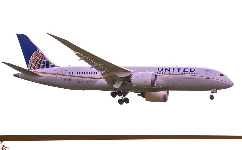 N26909 Boeing 787-8 Dreamliner United Airlines