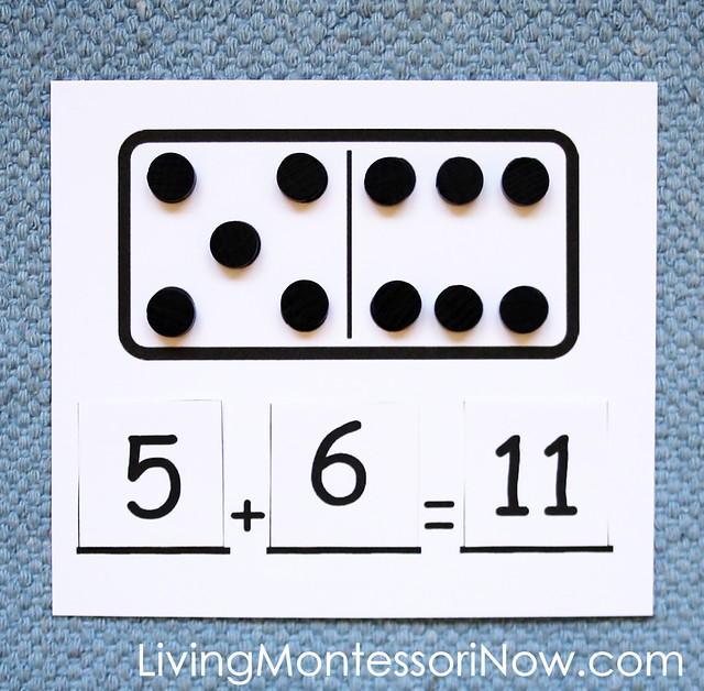 Domino Addition Layout