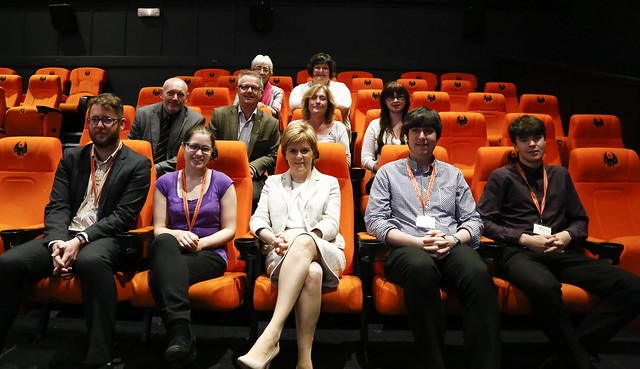 First Minister visits Oban Phoenix Cinema