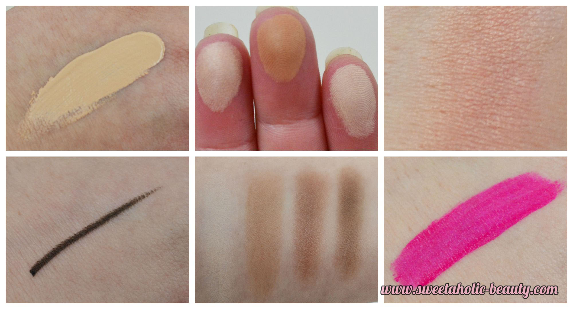 DB Cosmetics Brand Focus Review & Swatches - Sweetaholic Beauty
