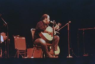 Musician at Bumbershoot, 1974