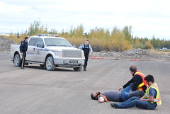 5-RCMP shows up