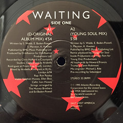 D-INFULENCE:WAITING(LABEL SIDE-A)