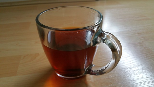 6 Mountains Tea - first steeping 2
