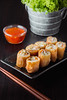 thai spring rolls by AEyZRiO