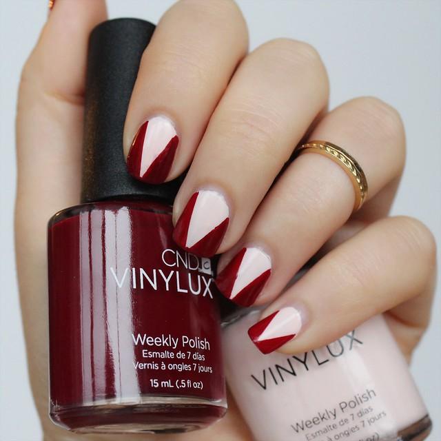 Halloween Dark Vampy Manicure | Nail Art