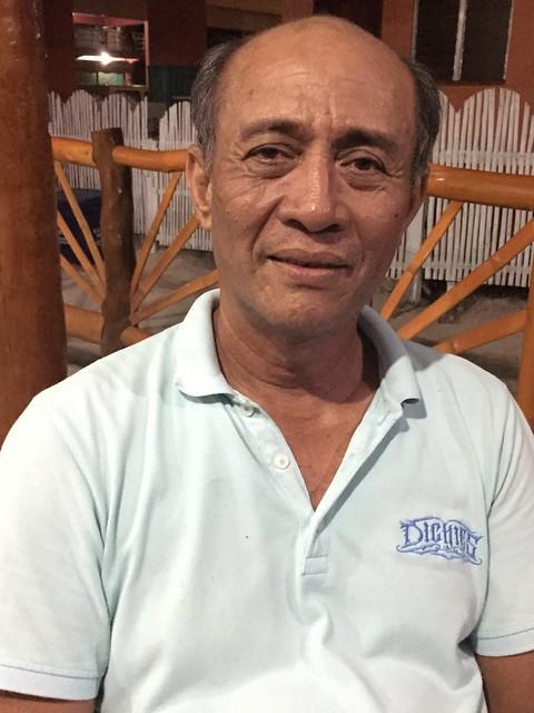 San Remegio Market Administrator Manuel E. Conde