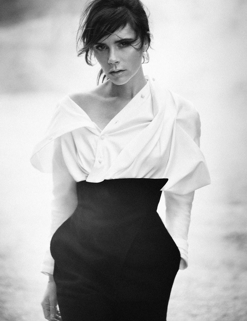 Виктория Бекхэм — Фотосессия для «Vogue» DE 2015 – 11