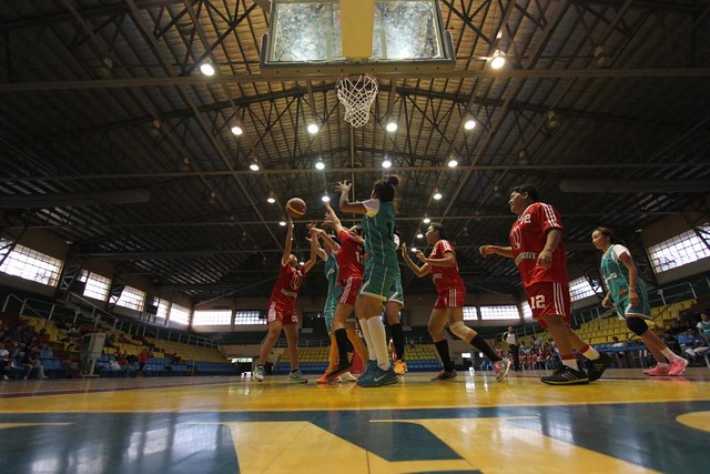 Basketball games in the rehabilitated Villereal Stadium - Roxas City, Capiz
