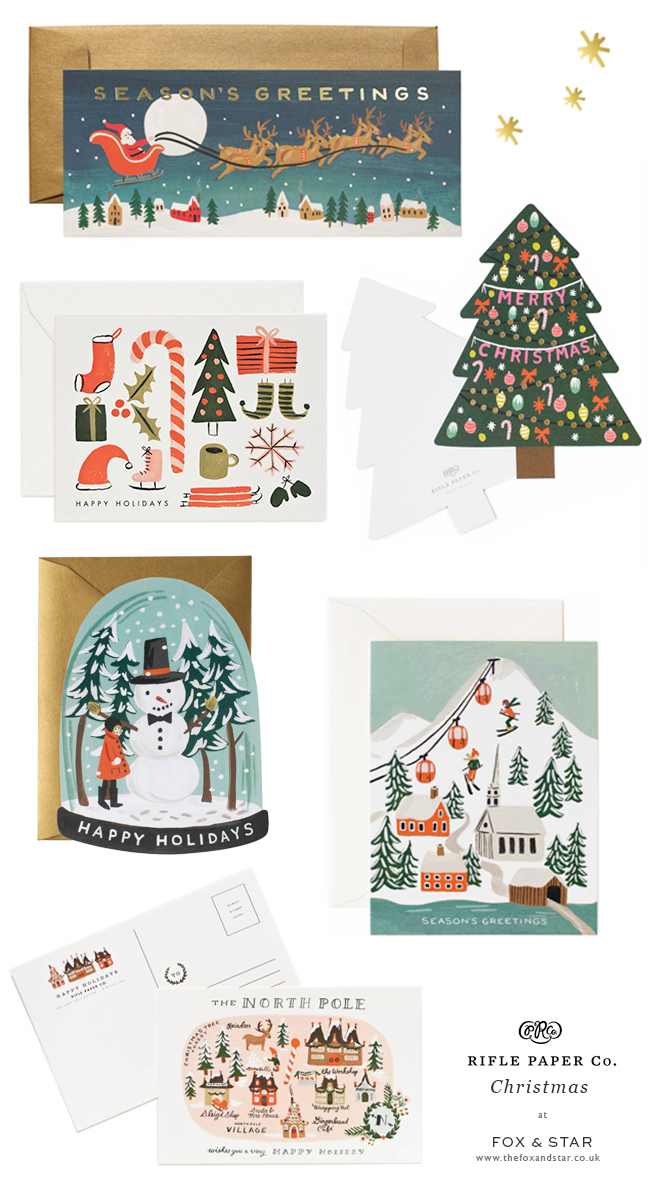Rifle Paper Co. Christmas cards