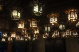Shitennoji-Temple, Osaka on OCT 31, 2015 (9)