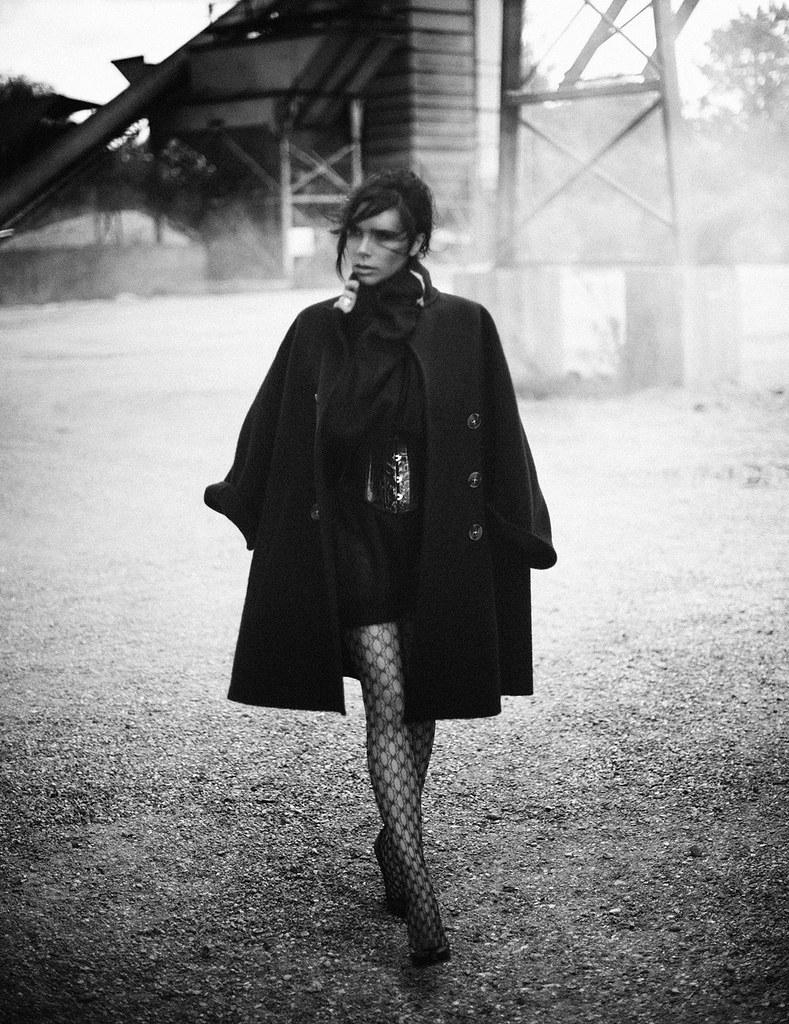 Виктория Бекхэм — Фотосессия для «Vogue» DE 2015 – 7
