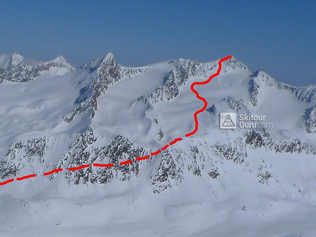 Hinterer Seelenkogel Ötztaler Alpen / Alpi Venoste Österreich foto 01