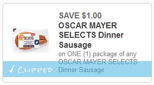 Oscar Mayer Selects Sausage at Meijer